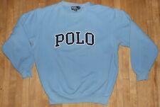 vintage POLO RALPH LAUREN sweatshirt SPELL OUT size MEDIUM