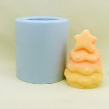 R0379 DIY Xmas Tree Handmade Silicone Candle Soap Molds Resin,Clay Crafts Form