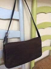 Purses And Handbags - Coach Brown Canvas Shoulder Bag