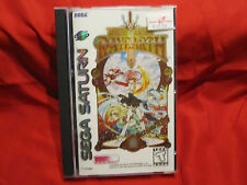 MAGIC KNIGHT RAYEARTH for SEGA SATURN **RARE** COMPLETE W/STICKERS Excellent