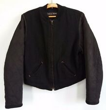 45RPM forty five RPM studio by R Japan FFRPM black wool baseball jacket small