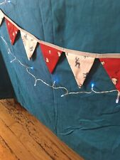 Hand Crafted Festive Christmas Bunting