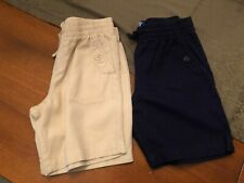(2) Wonder Nation Uniform Shorts - Size M 7/8 - Euc