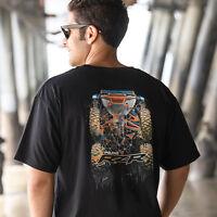 NEW Polaris RZR Men's Air Tee Shirt Black Cotton Poly - 2869591 - L, 2XL, 3XL