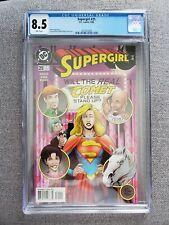 Supergirl #25 CGC graded 8.5 VF+ September 1998 DC Comics