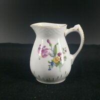 B & G Bing & Grondahl Copenhagen Porcelain Denmark Floral Flowers Creamer 189