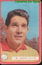 028 DOMINIQUE COLONNA STADE REIMS FOOTBALL CARTE MIROIR SPRINT 1960's RARE