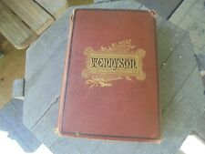 ANTIQUE TENNYSON'S POEMS 1879 ILLUSTRATED GUSTAV DORE AND OTHERS