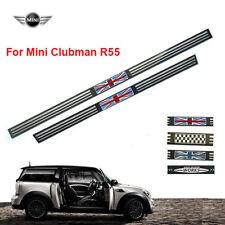 Fits Mini Clubman R55 Tungsten Steel Entry Door Sill Trim Strip 5 Doors Cooper