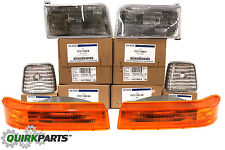 OEM NEW Front Right Left Head Light Turn Signal Blinker Corner Light Lamp Kit