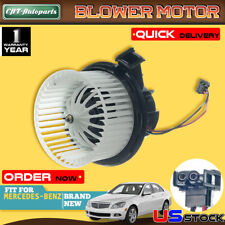 A-Premium A//C Blower Motor For 08-15 Mercedes-Benz C230 C63 E63 AMG E500 GLK350