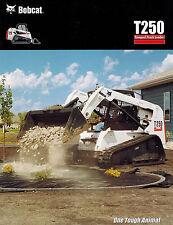 "BOBCAT T250  TRACK SKID STEER LOADER  BROCHURE X ""NEW"""