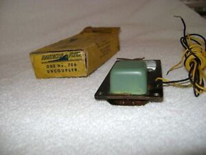 American Flyer 706 Remote Controlled Uncoupler