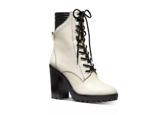 MICHAEL Michael Kors Women's Bastian High-Heel Booties LT CREAM