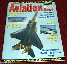 Aviation News 2009 January Pilatus,Comet,Britannia,Swift