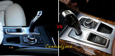 For Bmw X5 E70 2010-2013  Stainless Interior Gear box Panel Cover  Trim 1pcs