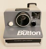 Polaroid Land Camera The Button w/ Original Box untested