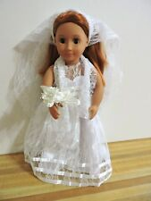 Battat Wedding Doll Our Generation Doll Red Hair Brown Eyes 18""