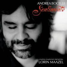 Andrea Bocelli Sentimento (2002, & LSO/Maazel) [CD]