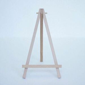 Small Wood Easel 18.5cm | Wedding Party Sign Art Display Stand Rustic Craft