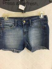 Mavi Jeans Denim Shorts Women's Size 26 Lana Cut-Offs Medium Wash