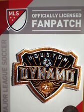 Official Embroidered MLS Soccer Houston Dynamo Logo Iron or Sew On Patch