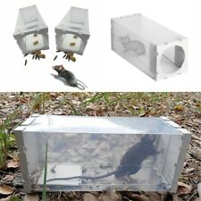 Rat Trap Humane Box Catch Mouse Mice Cage Live Animal Safe BAIT Control Bottle