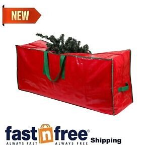 Christmas Tree Storage Bag - Stores a 7.5 Foot Disassembled Artificial Xmas H...