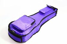 21 inch PURPLE ukulele bag 10mm padded deluxe waterproof kids carry case xmas UK