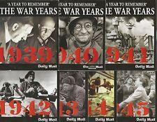 BRITISH PATHE - THE WAR YEARS - FULL SET 7 DISCS 1939 - 45 - MAIL PROMO DVD