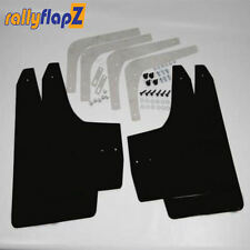 Rallyflapz 4mm PVC Mudflaps Honda Civic Type R (FN2) (2007 on) Black