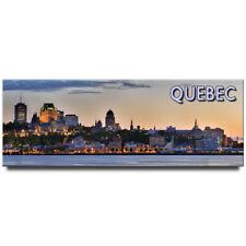Quebec City panoramic fridge magnet Canada travel souvenir