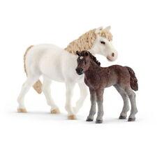 Schleich  Farm World  42423 Pony Stute und Fohlen  Neuheit 2018