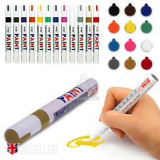 UK 12 Colors Sets Fine Paint Oil Based Art Marker Pen Glass Metal Waterproof New