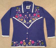 "Storybook Knits ""Alpine Flowers"" Cardigan Sweater BRAND NEW"