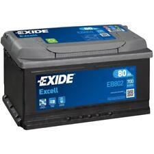 EXIDE EB802 Starterbatterie EXCELL Kofferraum