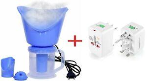 Face Mist Steamer 3 in 1 Steam Moisturizing Sprayer Spa Deep Cleanser Skin Care