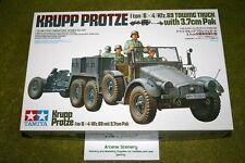 Tamiya krupp protze (Kfz.70) 6×4 camion avec 3.7cm pak 1/35 échelle 35259 kit