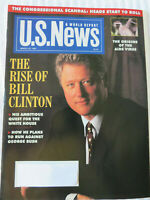 U.S. NEWS MAGAZINE MARCH 1992 THE RISE OF BILL CLINTON HIS AMBITIOUS QUEST
