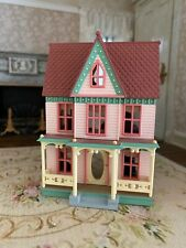 Vintage Miniature Dollhouse Victorian Style Child's Toy Christmas Holiday Pretty