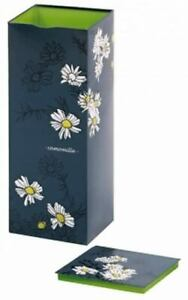 Tea Caddy Storage Container Canisters Tin Camomile VJ NEW
