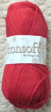 DK Knitting Wool 100g Cottonsoft DK Double Knitting 100%25 Cotton Yarn King Cole