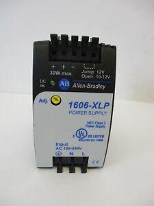 ALLEN BRADLEY 1606-XLP30B POWER SUPPLY W/DIN RAIL NEW SERIES A