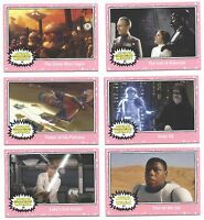 2015 Topps Star Wars Journey to The Force Awakens Lightsaber Neon You Pick