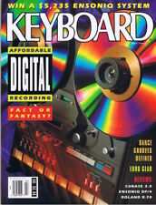 Excellent 1992 KEYBOARD Magazine Roland R-70 ENSONIQ DP/4 Rev, Digital Recording