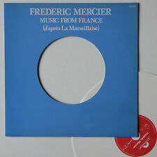 "Vinyle 33T Frederic Mercier  ""Music from France"" - color disc"