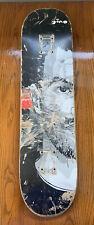 Gino Ianucci Split Portrait Skateboard Deck Evan Hecox Chocolate