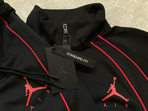Mens Nike Air Jordan Jumpman Tracksuit SET MJ 23 AJ FZ Track Jacket & Bottoms