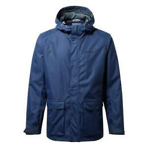 Craghoppers Mens Night Blue Waterproof AquaDry Kiwi Classic Jacket Coat Size M