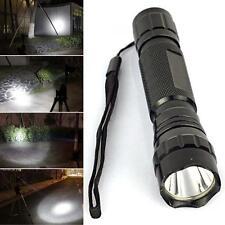 WF-501B 5000LM CREE XM-L T6 LED 18650 Flashlight 5-Mode Torch Lamp+